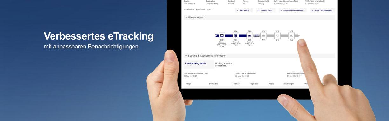 eTracking - Lufthansa Cargo