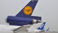 Lufthansa Cargo and ANA tailsigns
