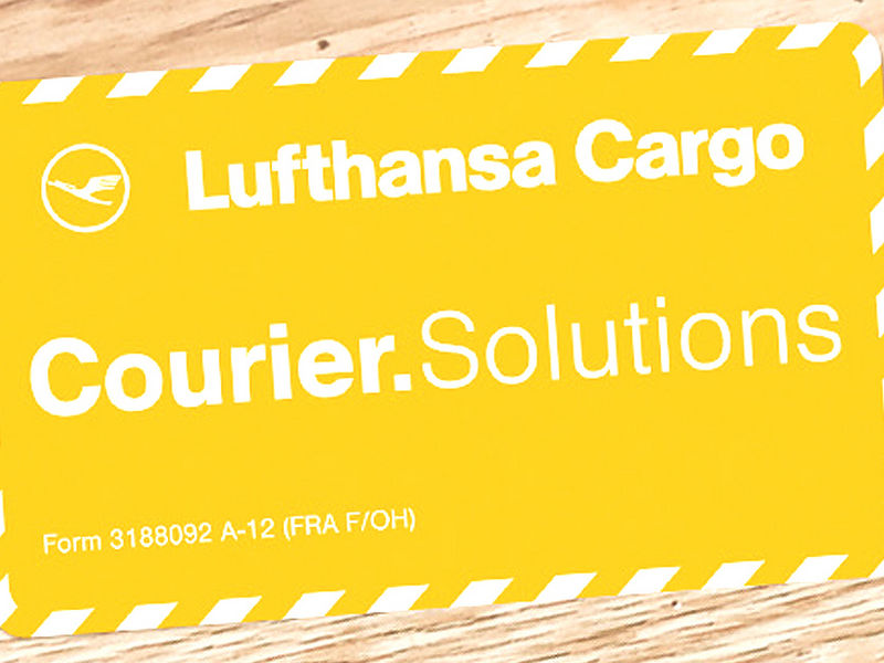 Courier  solutions for time-critical and high-value air freight