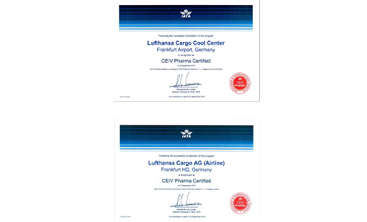 Cool: for temperature controlled air transport - Lufthansa Cargo